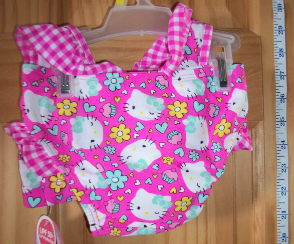 Hello Kitty Baby Clothes 3T Sanrio Pink Cupcake Cat