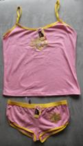Women's Juniors Femina Pink  Camisole and Panties Sleep Set Size L - $3.99