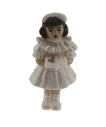 "12 Plastic Communion Girls with bible favor 2-1/2"" tall - $5.95"