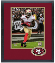 Bruce Ellington 2014 San Francisco 49ers -11 x14 Team Logo Matted/Framed Photo - $43.55