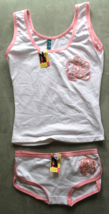 Women's Juniors Femina White  Camisole and Panties Sleep Set Size S - $3.99