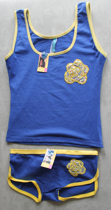 Women's Juniors Femina Blue  Camisole and Panties Sleep Set Size S - $3.99
