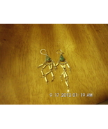 Handmade Beaded Dangle Earrings Pierced - $3.99