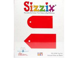Sizzix Tag Set Die #38-0236 - $5.39