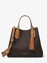 Michael Kors Brooklyn Large Logo Satchel - $349.00