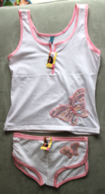 Women's Juniors Femina White  Camisole and Panties Sleep Set Size M - $3.99