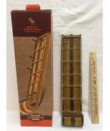 """Cribbage Board Toboggan Sled Shape Game 15"""" Resin Peg Board Outside Gift... - $34.64"""