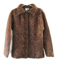 Alberto Makali Brown Quilted Jacket size S - $48.00
