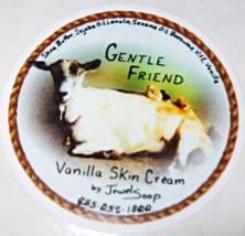 Vanilla GENTLE FRIEND moisturizing skin cream, natural face cream, body ... - $6.90+