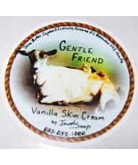 Vanilla GENTLE FRIEND moisturizing skin cream, natural face cream, body ... - $6.50+