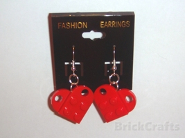 Heart earrings red2a thumb200