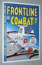 1970's EC Comics Frontline Combat 8 USAF United States Air Force poster pin-up - $29.99