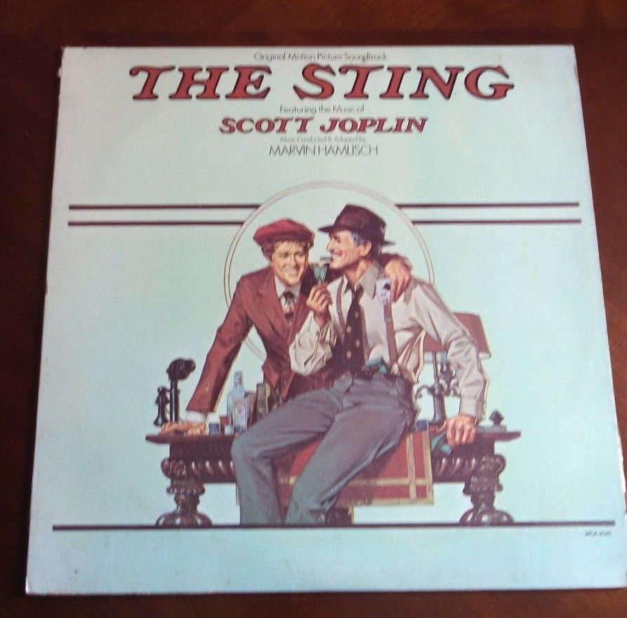 Primary image for Scott Joplin The Sting Movie Soundtrack Vinyl LP Record VG+ The Entertainer