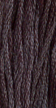 Soot (1050) 6 strand hand-dyed cotton floss Gentle Art Sampler Threads GAST - $2.15