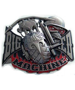BIg Red Machine Belt Buckle - $15.99