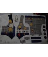 Womens Springtime Vest Fabric Panel  XS, S, M, L - $10.00