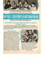 Omri Katz Kellie Martin Simon Fenton teen magazine pinup clipping Mantin... - $5.00