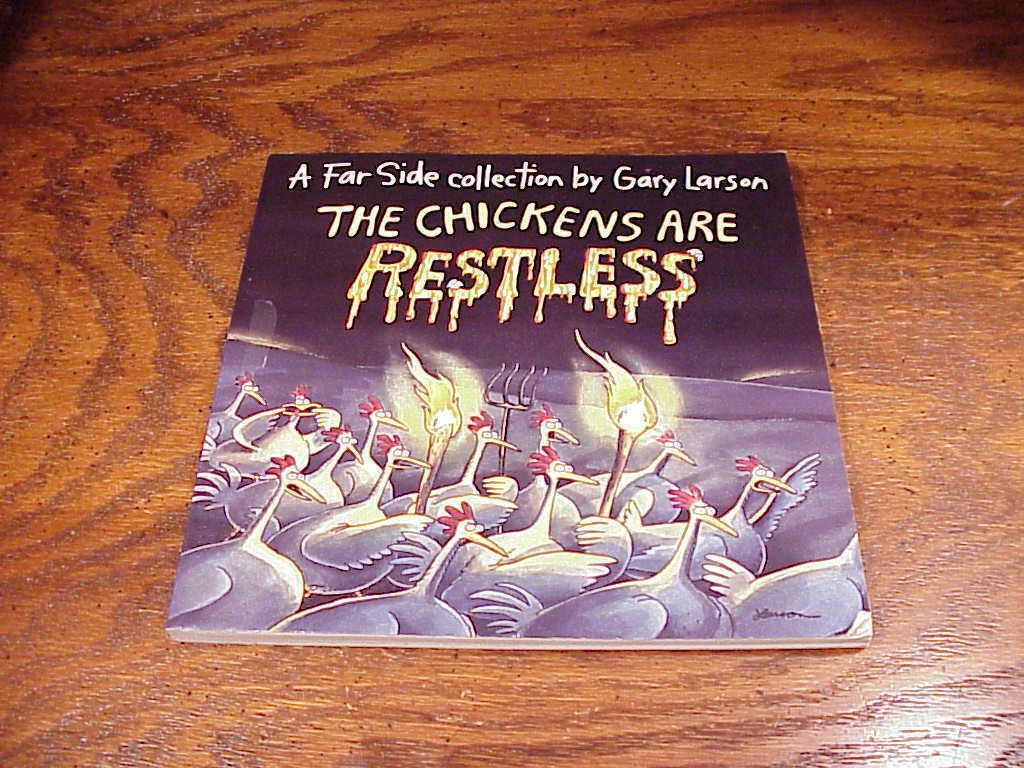 Lot of 2 Gary Larson Farside Collection Comic Books, Curse Madame C, Chickens
