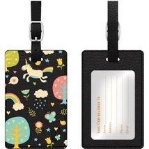 Centon Electronics Otm Essentials Black Leather Bag Tag - $30.97