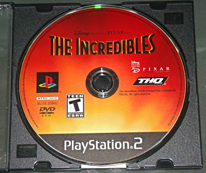 Primary image for Playstation 2 - THQ - THE INCREDIBLES (Game Only)