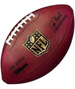 "AUTHENTIC NFL OFFICIAL ON-FIELD GAME WILSON FOOTBALL F1100 ""THE DUKE"" - ... - $94.90"