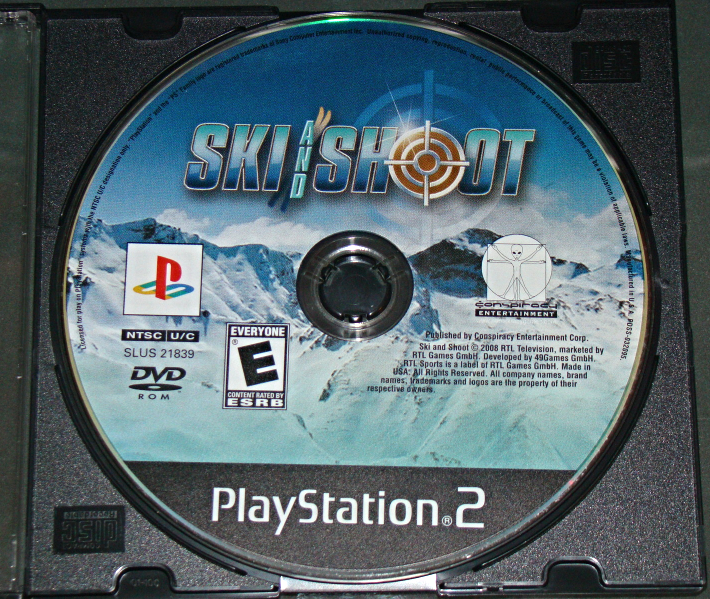 Primary image for Playstation 2 - SKI AND SHOOT (Game Only)