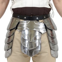 """Hung"" Middle Age Knights Tasset Battle Armor Plated Steel Waist Fauld Belt - $159.00"