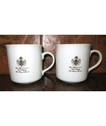 Gevalia Kaffe 2 Coffee Mugs By Appointment To His Majesty The King Of Sw... - $12.82