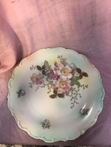 "Bavaria Shumann Floral & Gold Serving Plate 12"" - $43.54"
