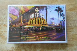 4 Queens casino and hotel on Fremont street in Las Vegas NV advertising ... - $14.25