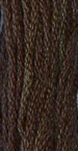 Raven (7042) 6 strand hand-dyed cotton floss Gentle Art Sampler  - $2.15