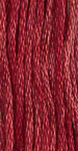 Raspberry Parfait (0380) 6 strand hand-dyed cotton floss Gentle Art Sampler  - $2.15