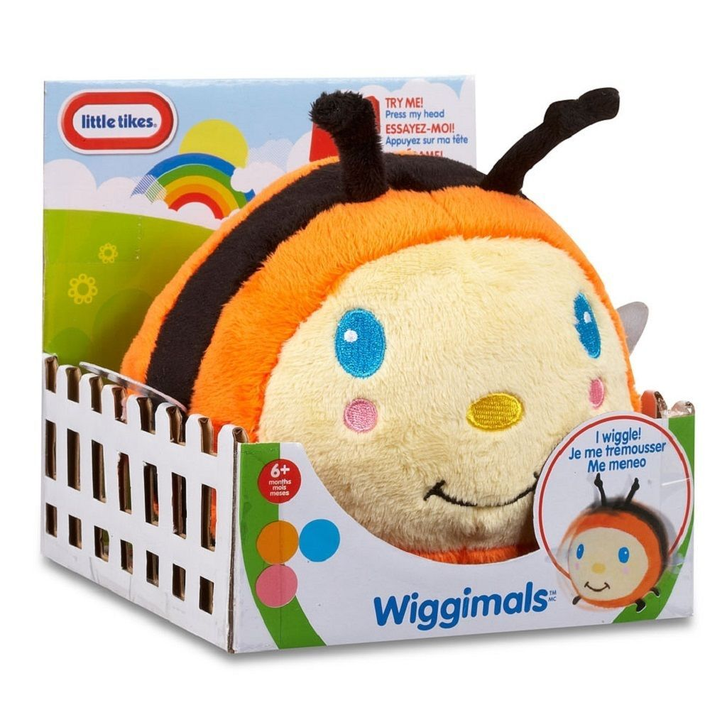 Primary image for Little Tikes Wiggimals Bumble Bee Plush 6 Mos 633560M Unisex Sound & Movement