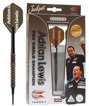 Target Darts Pro Player Adrian Lewis Silica Soft Tip Darts, Euro, 18gm - $89.99