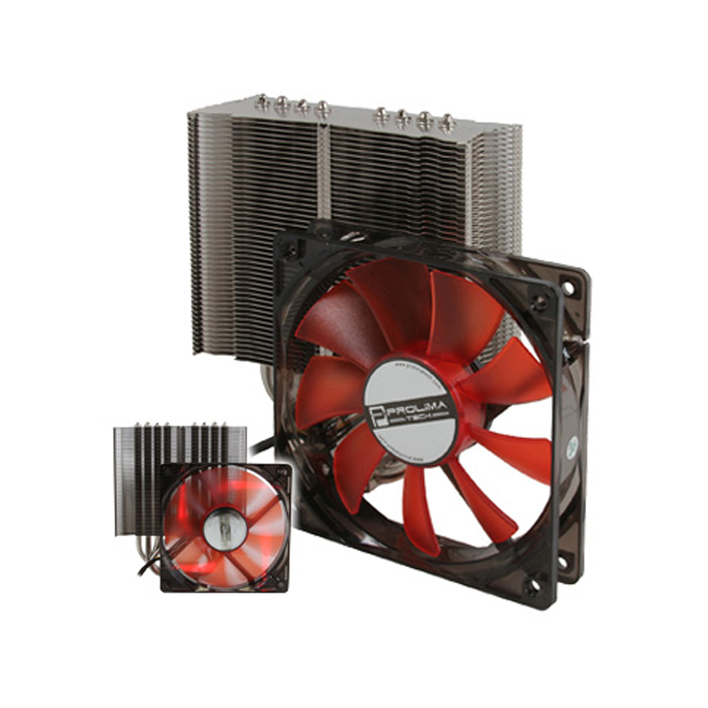 Primary image for Nippon labs Samuel17 CPU Cooler Heatsink for low RPM 120mm fans