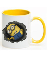Minions Ceramic Coffee Mug CUP 11oz - $18.64 CAD