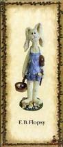 """Boyds Bears Critter & Co """"E.B. Flopsy... Whoops"""" #36719- 1E- 2003- NIB - $29.99"""