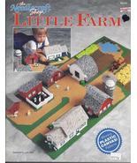 LITTLE FARM~Plastic Canvas Pattern~Barn, House~Silo~Grain Bin + - $21.99