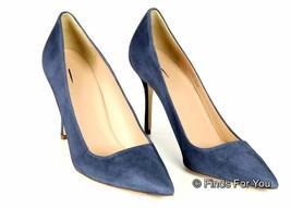 J Crew Elsie Suede Pumps in Rhapsody Blue Size 9.5 Style A4969 $245 New - $154.62