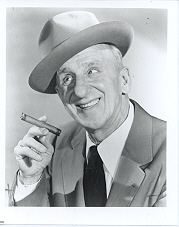 Primary image for Jimmy Durante Vintage 11X14 BW Comedy  Memorabilia Photo