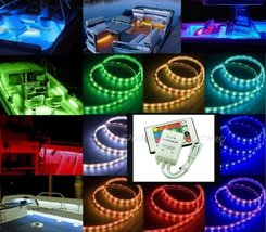 Octane Lighting 12V Led Rgb Color Changing Marine Party Ski Boat Boating Yacht L - $49.45
