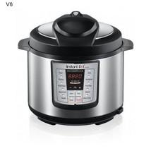 Instant Pot Power Pressure Cooker Canning Roast 6 Qt SilverMultifunction... - €155,13 EUR