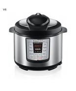 Instant Pot Power Pressure Cooker Canning Roast 6 Qt SilverMultifunction... - $176.88