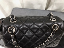 100% AUTHENTIC CHANEL 2017 BLACK QUILTED LAMBSKIN URBAN SPIRIT BACKPACK SHW image 8
