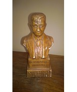 Vintage Chalk ware Bust of Will Rogers by 3D - $24.00