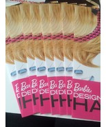 Barbie Designable Hair Extensions Lot Of 8 Cards Mattel Inkjet Blonde 2 ... - $14.49