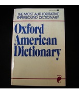 Oxford American Dictionary 1980 Softcover Avon ... - $1.00
