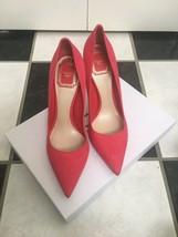 NIB 100% AUTH Christian Dior Cherie Suede Pointy Pumps 10CM $650 - $398.00
