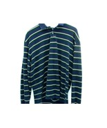 Polo by Ralph Lauren Vintage Shirt Blue Golf Striped Men's XL L/S Green ... - $21.49