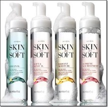 Avon Skin So Soft Foam Oil Body Wash - $11.99
